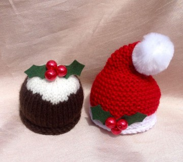 Terrys Chocolate Orange Santa Hat & Christmas Pudding Cover