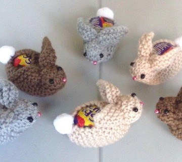 Easter Creme Egg Rabbit Covers