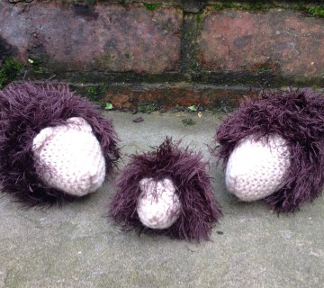Knitted Hedgehogs