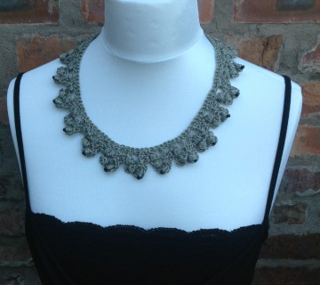 Sable Lace Necklace