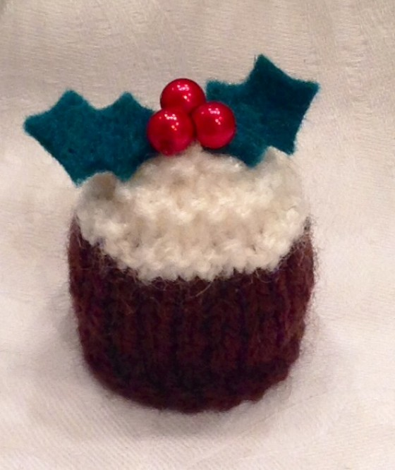 Mini Christmas Pudding Cover